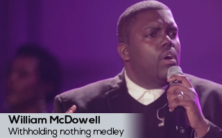 Withholding nothing medley